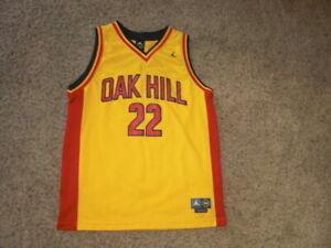 Nike CARMELO ANTHONY High School sewn OAK HILL Basketball Jersey youth Large