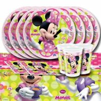 Minnie Mouse Party Plates Cups Balloons Minnie Mouse Disney Junior Partyware