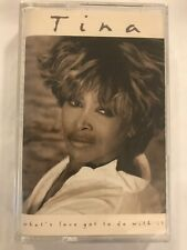 TINA TURNER What's Love Got To Do With It? 1984 CASSETTE TAPE Sealed BRAND NEW