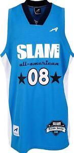 2008 Brandon Jennings Slam High School All-American Worn Jersey Magazine Bucks