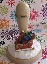 1995 Brown Bag Santa Sleigh Cookie Art Stamp Press No. 46 Teddy Bear Toys