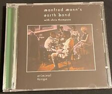 Manfred Mann's Earth Band - Criminal Tango CD (2013, Creature) Remastered