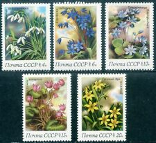 USSR-Russia-1983. Flora. Spring flowers. MNH 2€