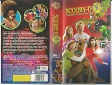 VIDEOCASSETTA VHS-SCOOBY-DOO 2-MOSTRI SCATENATI-WARNER BROSS-2004