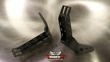 1983-1985 Honda ATC 200X Foot Pegs with Integrated Kick Ups - ATC200X