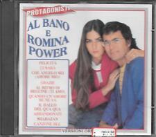 """AL BANO E ROMINA POWER - RARO CD FUORI CATALOGO """" PROTAGONISTI """""""