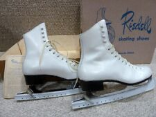 New listing Nice Pair Of Riedell Ice Skaters(White ) Sz 7 1/2 (1635/220 N 8005/N7-Eo) Hq 306