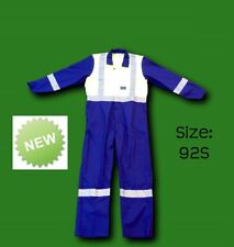 Tuffa Hi Visibility Navy/Day Glo Overalls Size 92S - COP168
