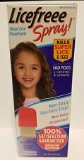 Licefreee Spray Instant Head Lice Treatment With Nit Comb NEW