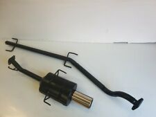 """VAUXHALL ASTRA Mk4 COUPE PERFORMANCE EXHAUST SYSTEM 1998-2001 4"""" Tip"""