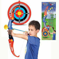 Kids Archery Toxophily Bow & Arrow Playset Darts, Target Birthday Xmas Gift Toy