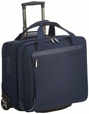 "Samsonite Spectrolite Rolling Tote 17.3"" Expandable, Cabin Size, Blue - New"