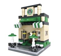 """Starbucks"" Coffee Shop Custom Lego Set {Brand New}"