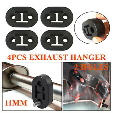 4pcs Exhaust Pipe Mount Rubber Insulator Grommet Hanger Bushing 11mm Rod Support