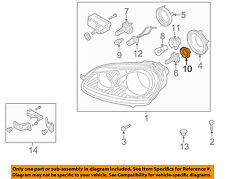 VW VOLKSWAGEN OEM 05-10 Jetta Headlight Head Light Lamp-Holder 1T0941109