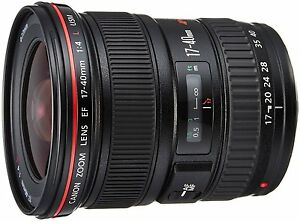 Canon Wide Angle zoom lens EF17-40mm F4L USM for Full Size New
