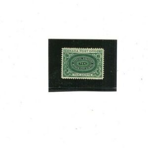 CANADA SPECIAL DELIVERY Stamp # EI  MHR (1) F-VF 1898 issue  10 cents