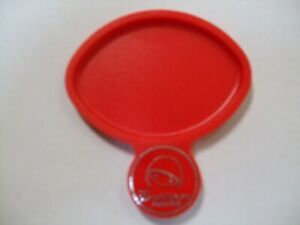 MOTORCYCLE SCOOTER SIDE STAND PAD RED