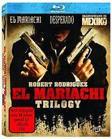 BLU-RAY EL MARIACHI TRILOGY - DESPERADO+IRGENDWANN IN MEXIKO - ROBERT RODRIGUEZ