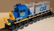 Lego Train Custom CSX Grey GP40 -----Please Read Item Description-----