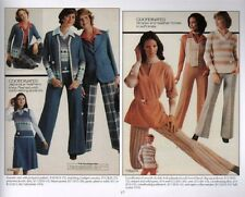 Fashionable Clothing from the Sears Catalogs, Mid-1970, New Book!, $0 Ship