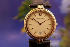 Beautiful, Elegant, Classic Ladies 32mm Gold Plated Charles Jourdan Quartz