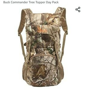 BUCK COMMANDER TREE TOPPER DAY PACK CAMO BACKPACK