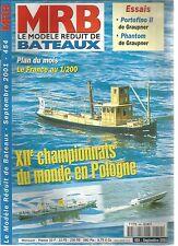 MODELE REDUIT DE BATEAU N°454 PORTOFINO II / PHANTOM / PAQUEBOT FRANCE / TOPAZE