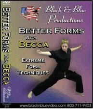 Better Forms with Becca Ross Extreme Form Techniques #1 Dvd karate martial arts