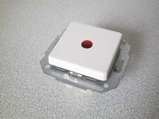 KOPP Kontrollschalter (rote Linse gr.) EUROPA arktis-weiss UP Unterputz Schalter