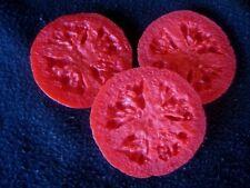 Wax Tomato Slices, Fake Food Veggies, 8 oz