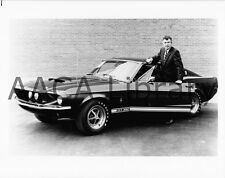 1967 Ford Shelby Mustang GT350 & Carrol Shelby, Factory Photo (Ref. # 74771)