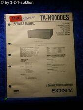 Sony Service Manual TA N9000ES Amplifier  (#4120)
