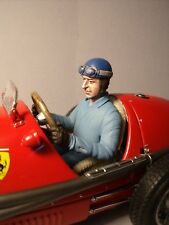 VROOM  FIGURINE  1/18  PEINTE  ASCARI  DRIVING  POUR  CMC  FERRARI  500  F2