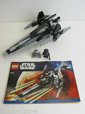 lego 7915 STAR WARS imperial V STARFIGHTER SHIP  SET complete minifigures R2 Q2