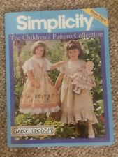 Simplicity Children's Pattern Collection Store Counter Book Daisy Kingdom & More