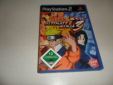 PlayStation 2  PS 2  Naruto - Ultimate Ninja 3 (2)