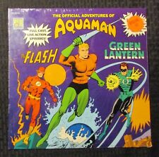 1967 Official Adventures of Aquaman The Flash & Green Lantern LP SEALED CH-1040