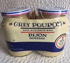 Grey Poupon Dijon Mustard 32 Ounce Twin Pack