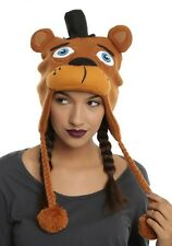 Five Nights At Freddy's Faz Bear Peruvian Laplander Beanie Knit Hat Sold Out NWT