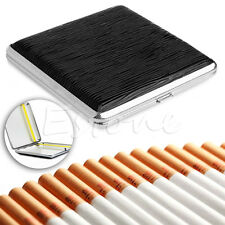 NEW Leather Pocket Cigarette Tobacco Case Box Holder 20pcs
