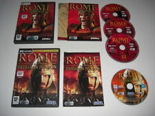 ROME TOTAL WAR + BARBARIAN INVASION Add-On Pc DVD Rom Fast Dispatch
