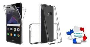 Coque Cristal Silicone Gel Protection Intégrale 360° pour Huawei P9 Lite Mini
