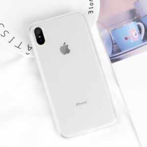 Shockproof Transparent Silicone Case Cover For iPhone 11 Pro Max XR X 8 7 Plus 6