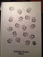 Yoshitaka Amano Diary Book Japan Artwork Art Final Fantasy Front Mission Note Nm