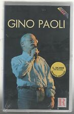 GINO PAOLI VHS (ORIZZONTE) SIGILLATA!!!
