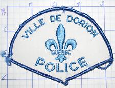 CANADA, VILLE DE DORION POLICE DEPT QUEBEC PATCH
