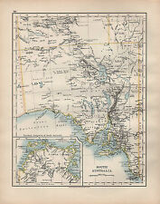 1902 Map ~ South Australia Arnhem Land Adelaide