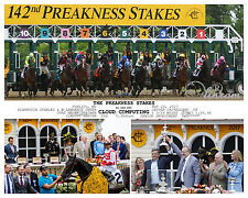 CLOUD COMPUTING PREAKNESS STAKES 2017 COMPOSITE PHOTO WITH DAILY RACING FORM