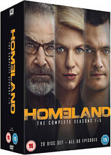 HOMELAND SERIES 1-5 COMPLETE DVD BOX SET SEASONS 1 2 3 4 5 NEW